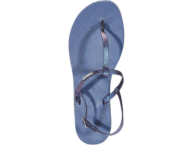 havaianas You Riviera Chaussures Femme, indigo blue
